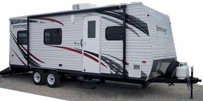 Find Specs for 2010 K-Z Sportsmen Toy Hauler RVs