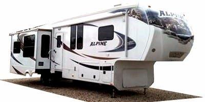 Find Specs for 2010 Keystone Alpine Fifth Wheel RVs