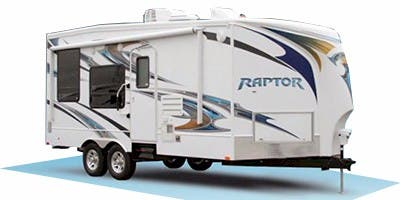 Find Specs for 2010 Keystone Raptor Toy Hauler RVs