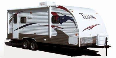 Find Specs for 2012 Skyline Texan Travel Trailer RVs