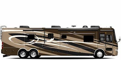 Find Specs for 2011 Tiffin - Allegro Bus <br>Floorplan: 43 QGP (Class A)