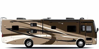 Find Specs for 2010 Tiffin - Allegro <br>Floorplan: 35 QBA (Class A)