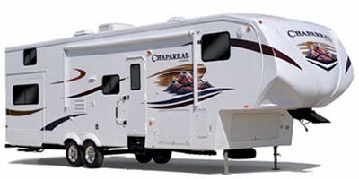 Find Specs for 2011 Coachmen Chaparral Fifth Wheel RVs