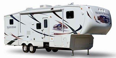 Find Specs for 2011 Coachmen North Ridge  Fifth Wheel RVs