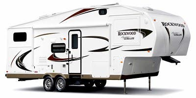 Find Specs for 2011 Forest River - Rockwood Signature Ultra Lite <br>Floorplan: 8281SS (Fifth Wheel)