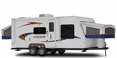 Find Specs for 2011 Forest River - Surveyor <br>Floorplan: SP-189 (Travel Trailer)
