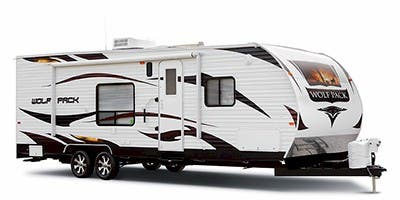 Find Specs for 2014 Forest River Wolf Pack Toy Hauler RVs