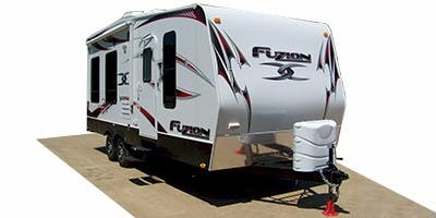 Find Specs for 2011 Keystone Fuzion Toy Hauler RVs