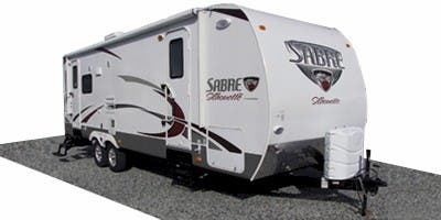 Find Specs for 2011 Palomino Sabre Silhouette Travel Trailer RVs
