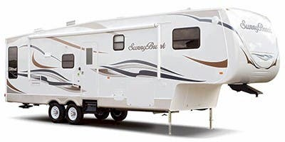 Find Specs for 2011 SunnyBrook - Bristol Bay <br>Floorplan: 3155 RK (Fifth Wheel)