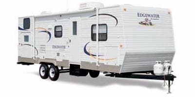 Find Specs for 2011 SunnyBrook - Edgewater <br>Floorplan: 298 BHE (Travel Trailer)