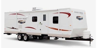 Find Specs for 2011 SunnyBrook - Sunset Creek <br>Floorplan: 281 RO (Travel Trailer)