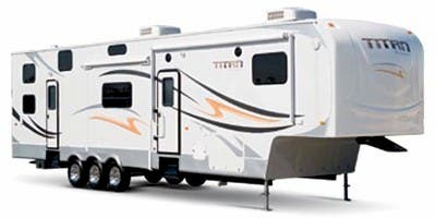 Find Specs for 2011 SunnyBrook - Titan <br>Floorplan: 39 SURV (Toy Hauler)