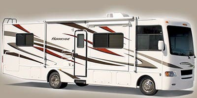 Find Specs for 2011 Thor Motor Coach Hurricane Class A RVs