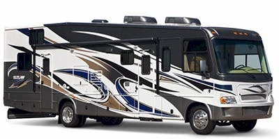 Find Specs for 2012 Thor Motor Coach Outlaw Toy Hauler RVs