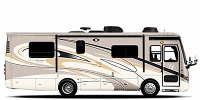 Find Specs for 2012 Tiffin - Allegro Breeze <br>Floorplan: 28 BR (Class A)