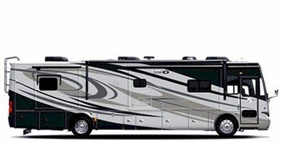 Find Specs for 2011 Tiffin - Phaeton <br>Floorplan: 40 QBH PowerGlide (Class A)