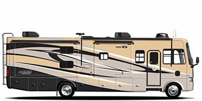 Find Specs for 2012 Tiffin - Allegro <br>Floorplan: 30 GA (Class A)