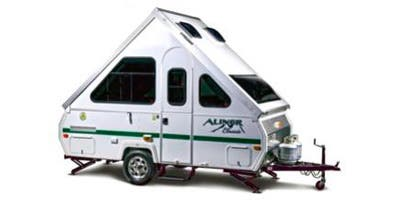 Expandable Trailer Aliner RV Unit Spec Results | Research on