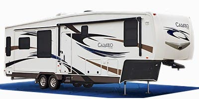 Find Specs for 2012 Carriage - Cameo <br>Floorplan: 32FWS (Fifth Wheel)