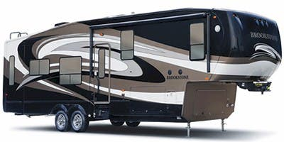 Find Specs for 2012 Coachmen - Brookstone <br>Floorplan: 345SA (Fifth Wheel)