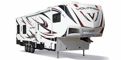 Find Specs for 2012 Dutchmen Voltage Toy Hauler RVs