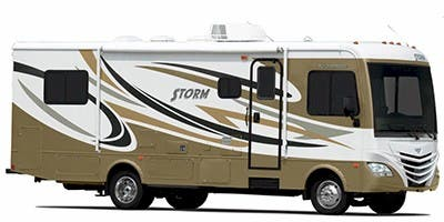 Find Specs for 2012 Fleetwood Storm RVs