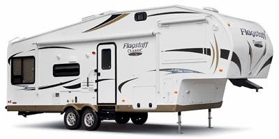 Find Specs for 2012 Forest River - Flagstaff <br>Floorplan: 8528CKWS (Fifth Wheel)