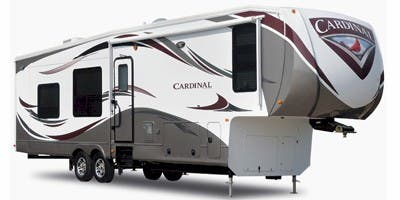 Find Specs for 2012 Forest River Cardinal Fifth Wheel RVs