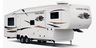 Find Specs for 2012 Forest River Cedar Creek Fifth Wheel RVs