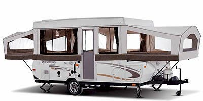 Find Specs for 2012 Forest River - Rockwood Premier <br>Floorplan: 2317G (Expandable Trailer)