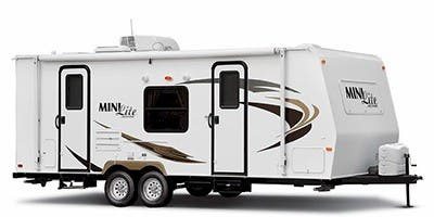 Find Specs for 2012 Forest River - Rockwood Mini Lite <br>Floorplan: 2306 (Travel Trailer)