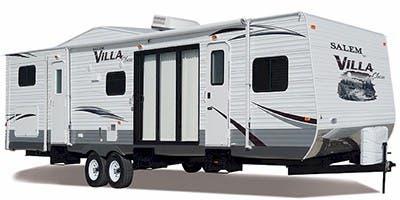 Find Specs for 2012 Forest River Salem Villa Destination Trailer RVs