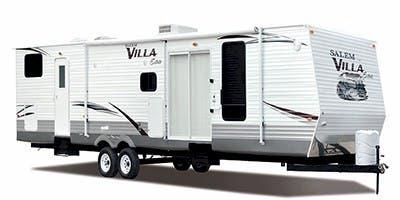 Find Specs for 2012 Forest River Salem Villa Estate Destination Trailer RVs