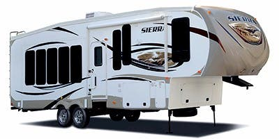 Find Specs for 2013 Forest River Sierra Fifth Wheel RVs