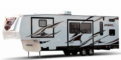 Find Specs for 2012 Forest River Vengeance Toy Hauler RVs