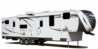 Find Specs for 2012 Forest River Wildwood Heritage Glen Fifth Wheel RVs