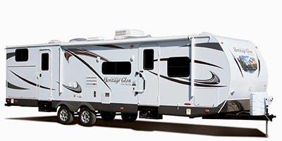Find Specs for 2012 Forest River Wildwood Heritage Glen Travel Trailer RVs