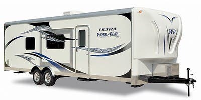 Find Specs for 2012 Forest River - Work and Play <br>Floorplan: 23UL (Toy Hauler)
