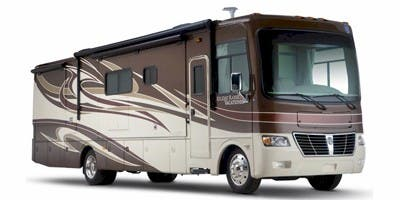 Find Specs for 2012 Holiday Rambler - Vacationer <br>Floorplan: 30SFS (Class A)