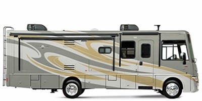 Find Specs for 2012 Itasca - Sunova <br>Floorplan: 35J (Class A)