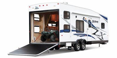 Find Specs for 2013 Jayco Octane ZX Toy Hauler RVs