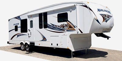 Find Specs for 2012 Keystone Avalanche Fifth Wheel RVs