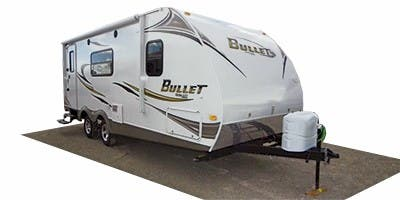 Find Specs for 2012 Keystone - Bullet <br>Floorplan: 248RKS (Travel Trailer)