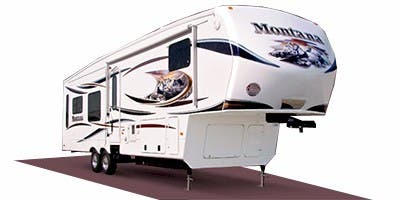 Find Specs for 2012 Keystone Montana Hickory Fifth Wheel RVs