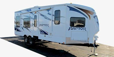 Find Specs for 2012 Keystone Raptor Toy Hauler RVs