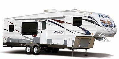 Find Specs for 2012 Palomino Puma Fifth Wheel RVs