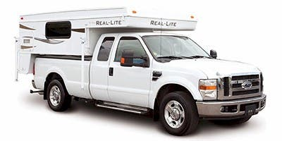 Find Specs for Palomino Real-Lite Truck Camper RVs
