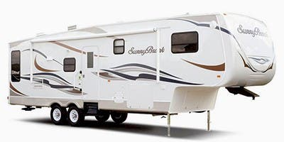 Find Specs for 2012 SunnyBrook - Bristol Bay <br>Floorplan: 3510 RE (Fifth Wheel)