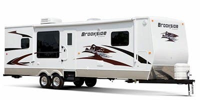 Find Specs for 2012 SunnyBrook - Brookside <br>Floorplan: 301 RBS (Travel Trailer)